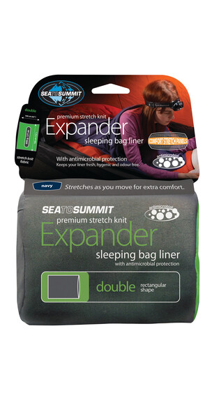 Sea to Summit Expander - Sacos de dormir - Double Rectangular azul